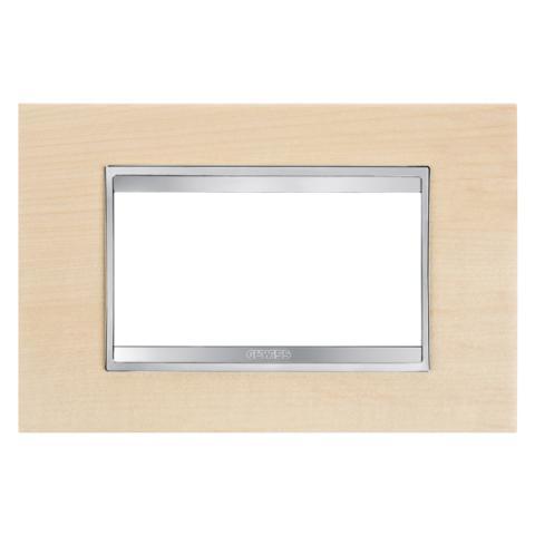 Рамка LUX 4 модула - Wood - Maple