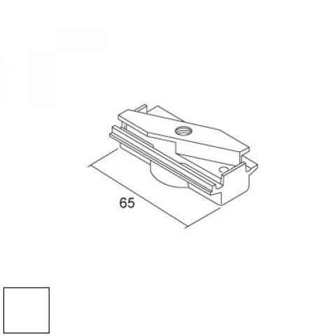 Mechanical adapter for DKM/LKM tracks - white