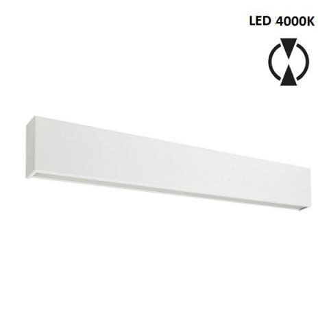 Аплик L - LED 28W 4000K - бял