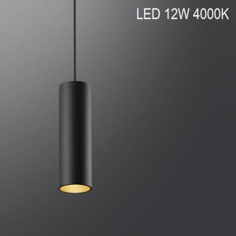 Suspension MINIPERFETTO-S LED 12W 4000K black