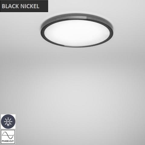 Плафон Ø477mm LED черен никел