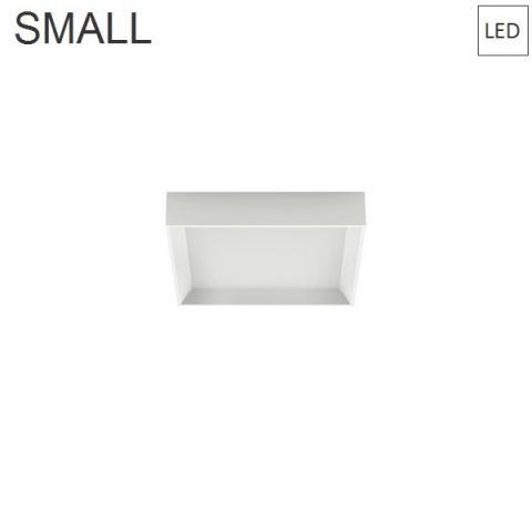 Wall/Ceiling Lamp 300x300 23W 3000K LED white