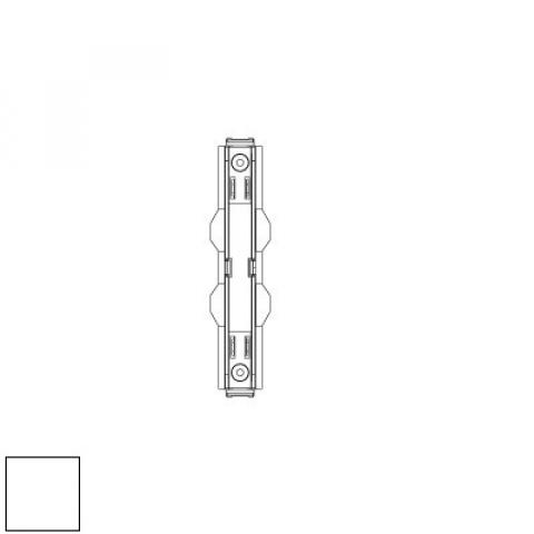 Mechanical joint for MM track - white