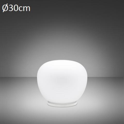 Настолна лампа Ø30cm E27 бяла
