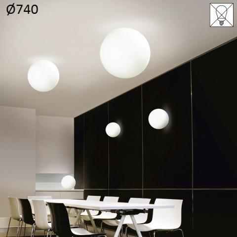 Ceiling lamp Ø740 E27 max 57W white