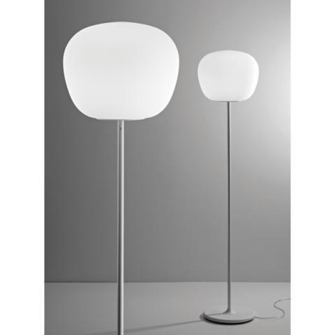 Наземна лампа Ø38cm E27 бяла