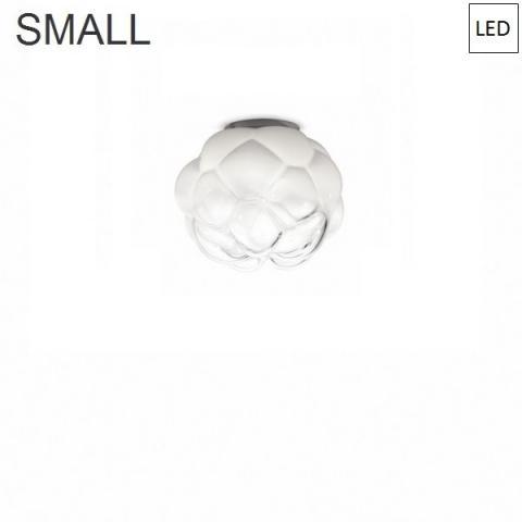 Плафон Ø26cm бял полупрозрачен LED