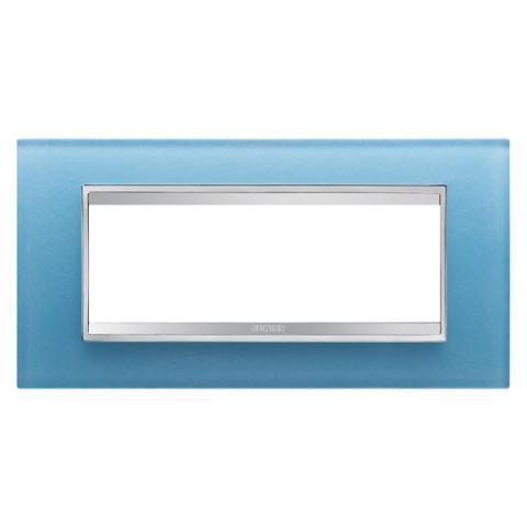 Рамка LUX 6 модула - стъкло - Aquamarine