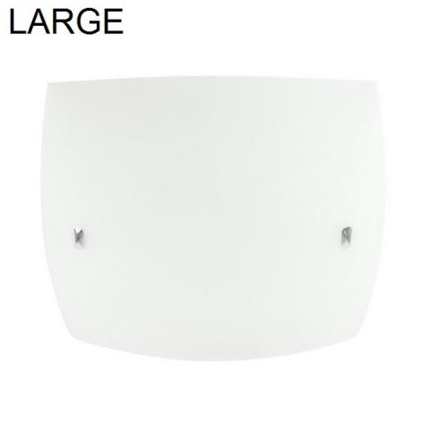 Ceiling lamp 500X500mm 2XE27 IP20