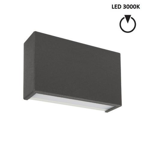 Аплик S - LED 6W 3000K - бетоново сив