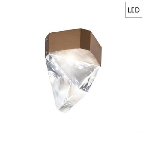 Плафон LED бронз