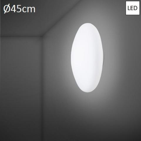 Wall/ceiling lamp Ø45cm LED White