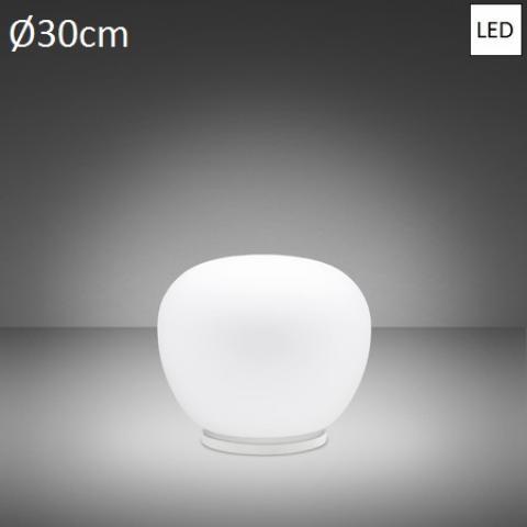 Настолна лампа Ø30cm LED бяла