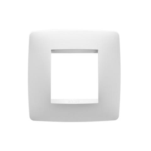 Рамка ONE International - 2 модула - Milk White