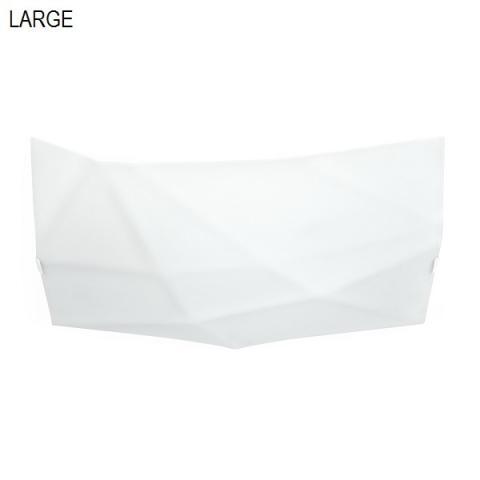Плафон Face 74cm бял