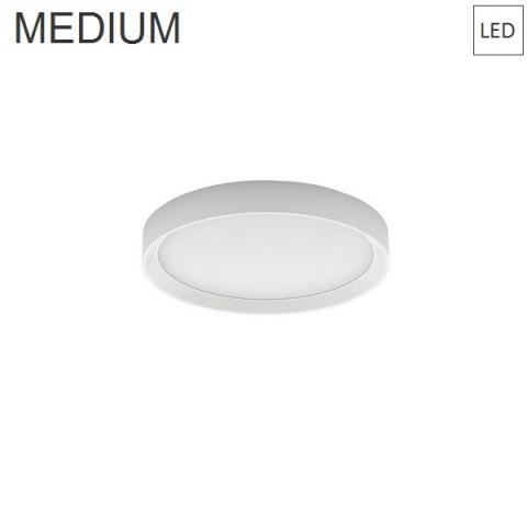 Wall/Ceiling Lamp Ø414 33W 3000K LED white