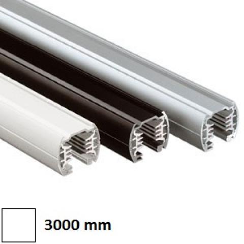 Трифазна релса LKM Round 3m бяла