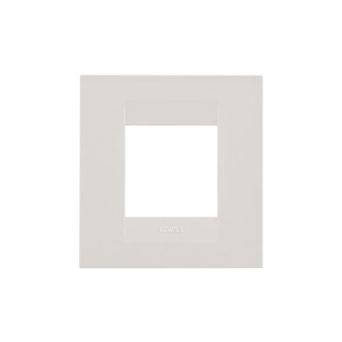 GEO International 2 gang plate - Ivory