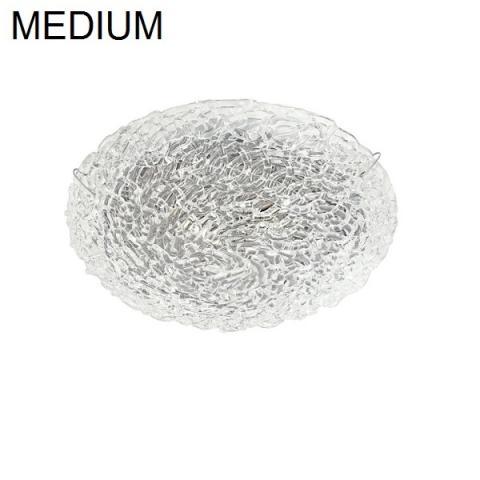 Плафон D38cm 3xG9 48W кристал