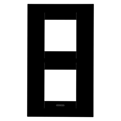Рамка GEO International 2+2 вертикална - Toner Black