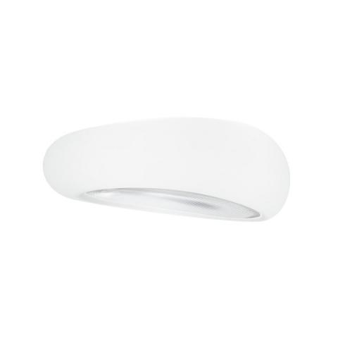 Ceiling Light 3xE27 white with prismatic diffuser