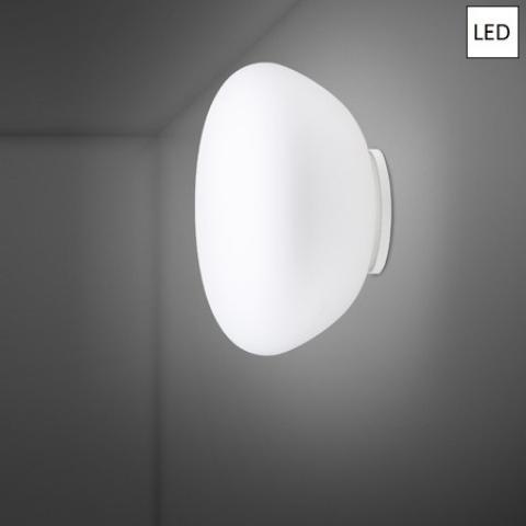 Wall/ceiling lamp Ø42cm LED White