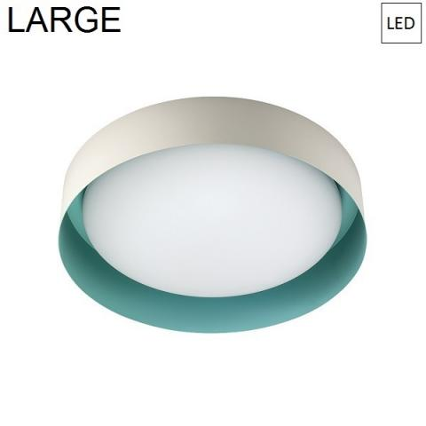 Ceiling Lamp Ø402mm LED 22W 3000K Sable/Tiffany