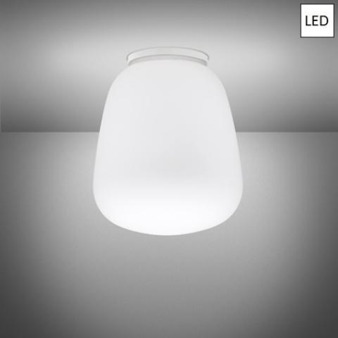Плафон Ø33cm LED бял