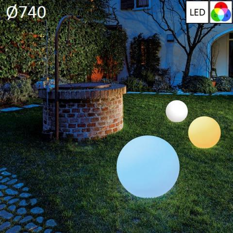 Garden floor lamp Ø740 LED RGB IP65