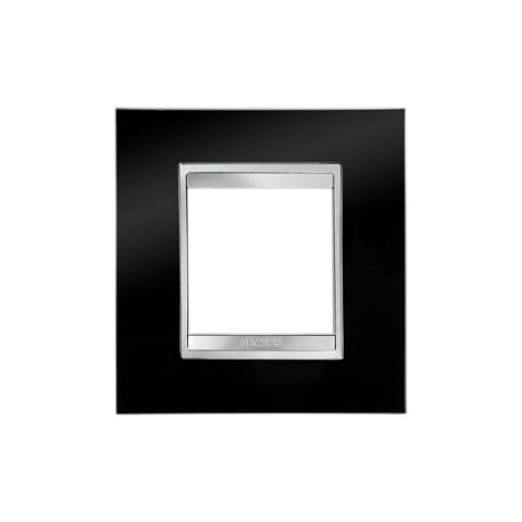 Рамка LUX International 2 модула - Toner Black