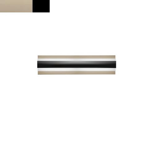 Аплик LED шампанско - черно