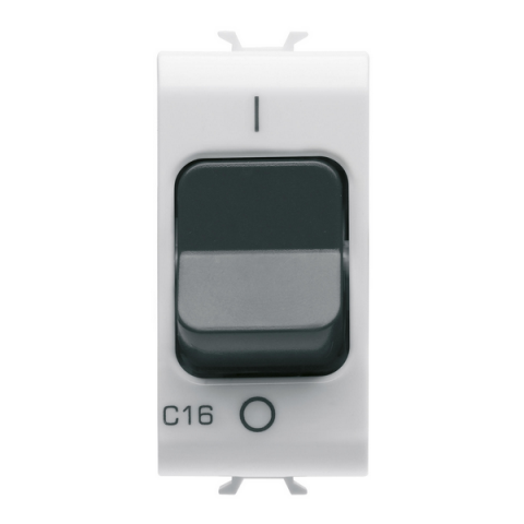 Миниатюрен автоматичен прекъсвач 1P+N 16A 3kA 230V AC