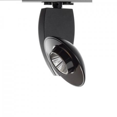 Dimmable Spotlight Kyclos DKM 51W 6400lm 3000K black