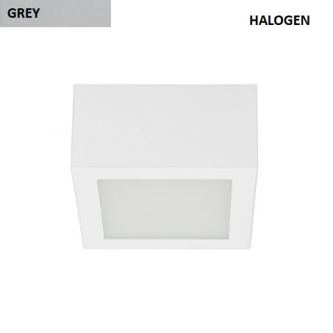 Ceiling light S - 48W Halogen - grey