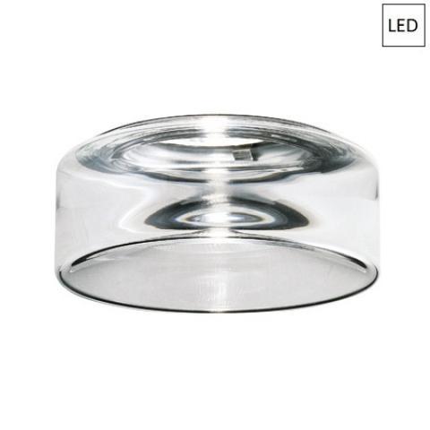 Downlight Ø13cm LED Transparent