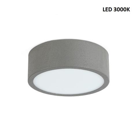 Ceiling light M - LED 14W 3000K - beton grey