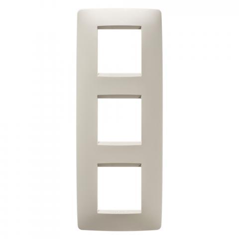 Рамка ONE International 2+2+2 вертикална - Ivory