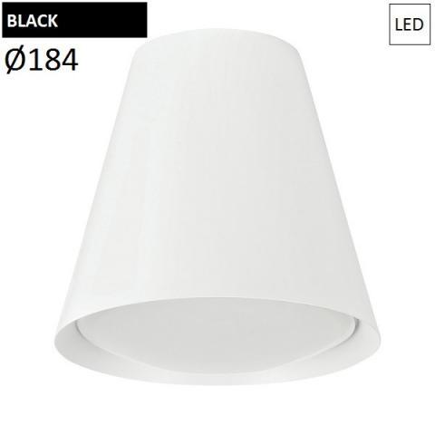 Ceiling Lamp Ø184mm LED 7W 3000K black