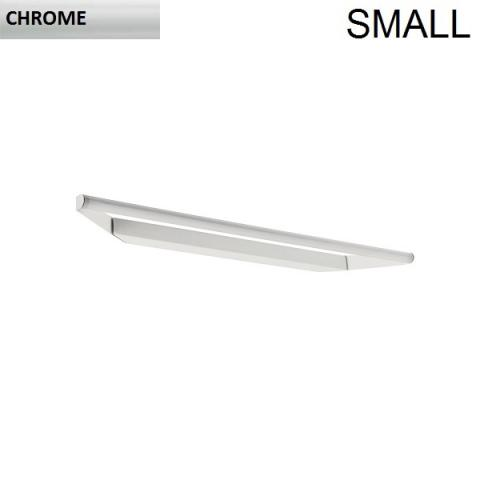 Directional wall/ceiling light 43cm LED 8W IP40 chrome