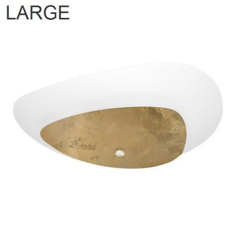 Ceiling lamp 730X589 3xE27 IP20 white/gold