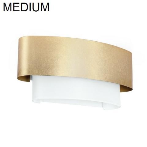 Аплик 400X185mm E27 бяло/злато