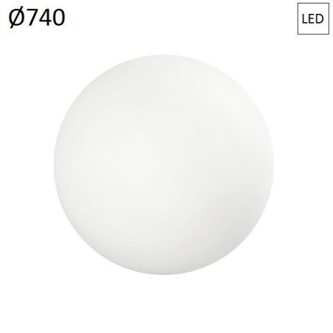 Плафон Ø740 LED 27W IP65 бял