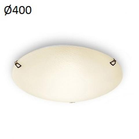 Ceiling light 2xE27 max 46W amber