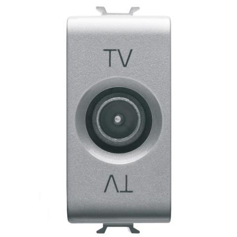 TV розетка преходна 14dB