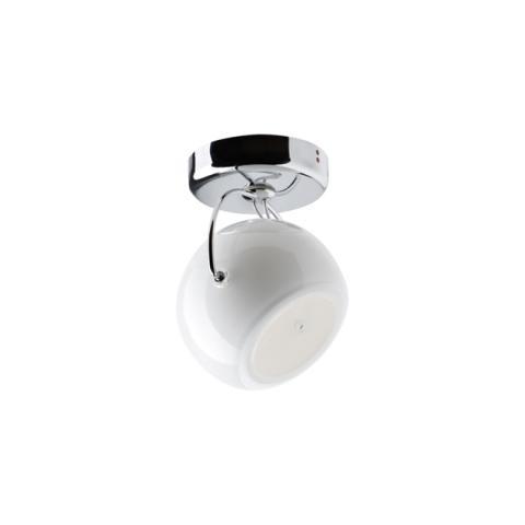 Wall/ceiling lamp Ø9cm White