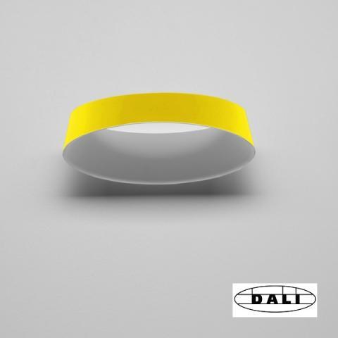Аплик Oxygen DALI жълт