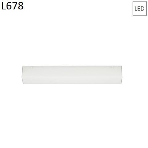 Wall/ceiling lamp 678mm 15W LED
