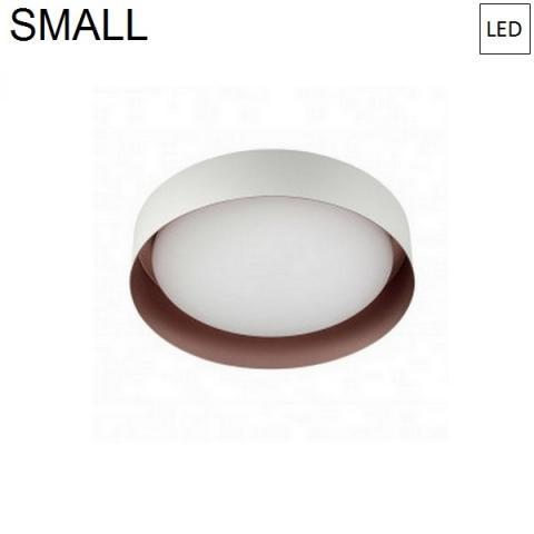 Ceiling Lamp Ø262mm LED 12W 3000K White/Copper