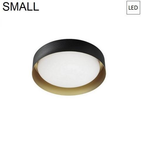 Ceiling Lamp Ø262mm LED 12W 3000K Black/Gold