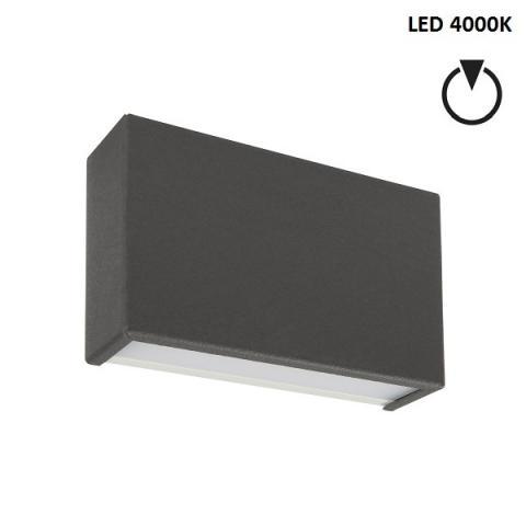 Аплик S - LED 6W 4000K - бетоново сив